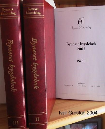 Omtale Byneset Bygdebok nr. 8